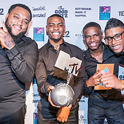 NLD/Rotterdam/20161102 - MTV Music Week Official Opening Party 2016, Broederliefde wint MTV EMA voor Best Dutch Act