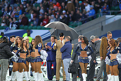 LONDON, ENGLAND - OCTOBER 22: Los Angeles Rams owner Stan Kroenke during the NFL match between the Arizona Cardinals and the Los Angeles Rams at Twickenham Stadium on October 22, 2017 in London, United Kingdom. (Photo by Mitchell Gunn/ESPA-Images)