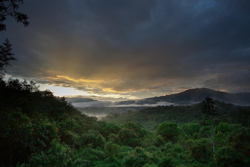 Sunrise at San Isidro, Ecuador