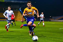 Otis Khan of Mansfield Town chases down the ball - Mandatory by-line: Ryan Crockett/JMP - 04/12/2018 - FOOTBALL - One Call Stadium - Mansfield, England - Mansfield Town v Bury - Checkatrade Trophy