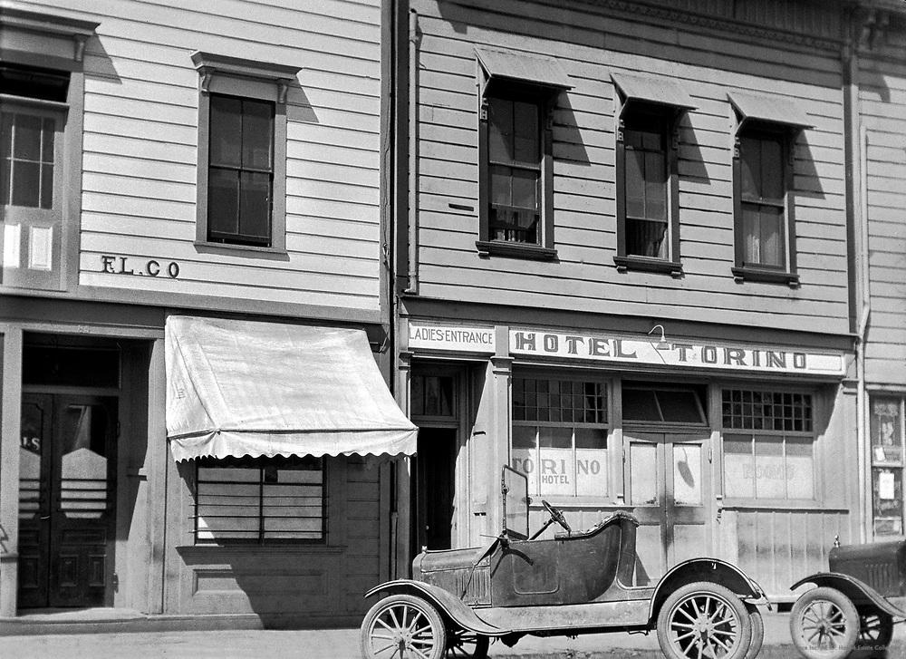Hotel Torino, California, 1926