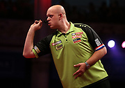 Michael Van Gerwen during the World Matchplay Darts 2019 at Winter Gardens, Blackpool, United Kingdom on 23 July 2019.