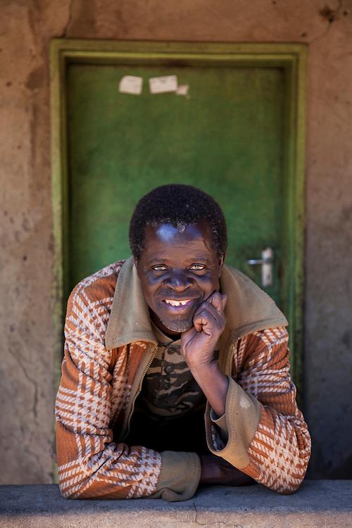 Chairman of the water committee: Bartholomew Chitambo. Chabota village, Chisekese ward, Zambia.
