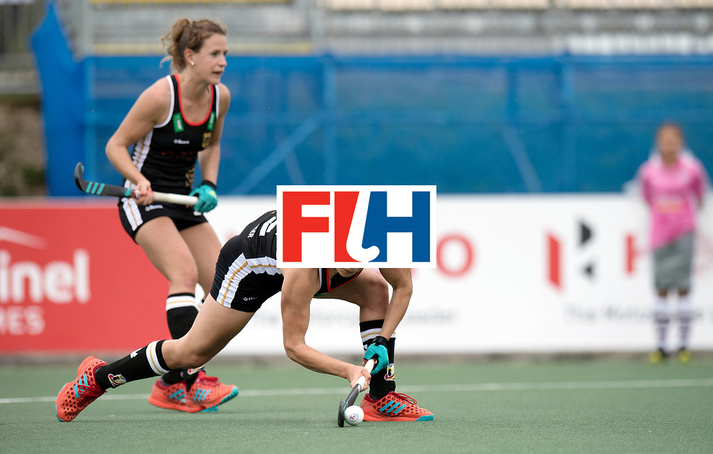 AUCKLAND - Sentinel Hockey World League final women<br /> Match id 10293<br /> 03 England v Germany <br /> Foto:  0-1  Charlotte Stapenhorst scores .<br /> WORLDSPORTPICS COPYRIGHT FRANK UIJLENBROEK