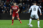 Paddy McNair (17) of Middlesbrough during the EFL Sky Bet Championship match between Swansea City and Middlesbrough at the Liberty Stadium, Swansea, Wales on 14 December 2019.