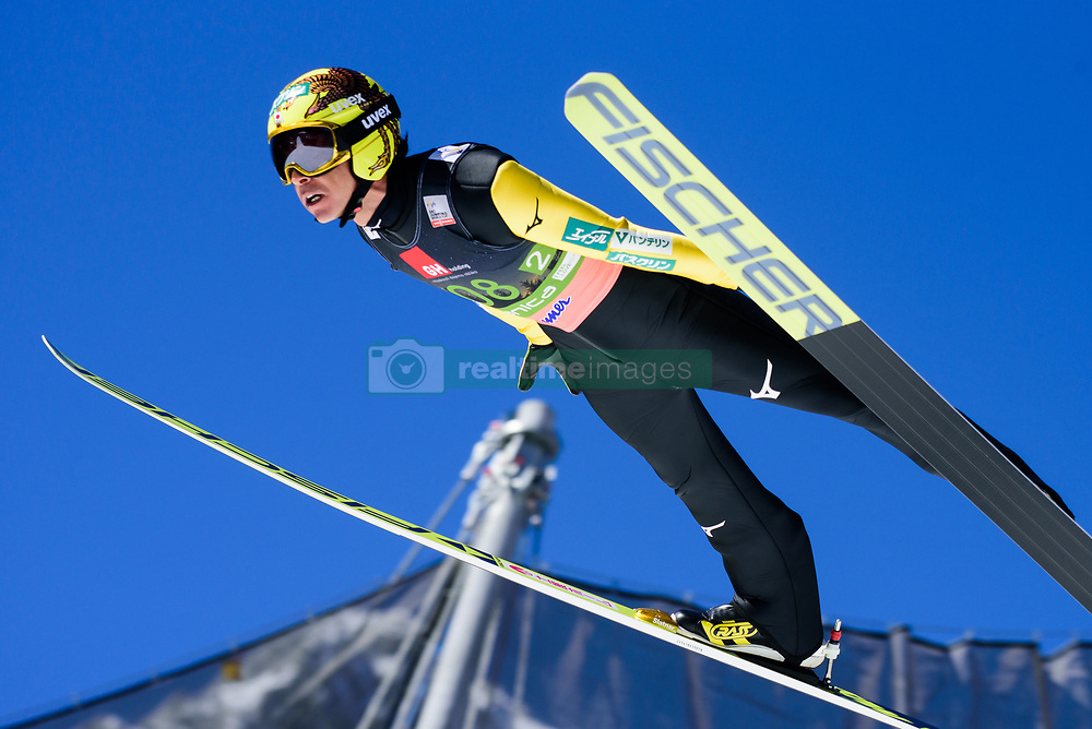 March 23, 2019 - Planica, Slovenia - Noriaki Kasai of Japan in action during the team competition at Planica FIS Ski Jumping World Cup finals  on March 23, 2019 in Planica, Slovenia. (Credit Image: © Rok Rakun/Pacific Press via ZUMA Wire)