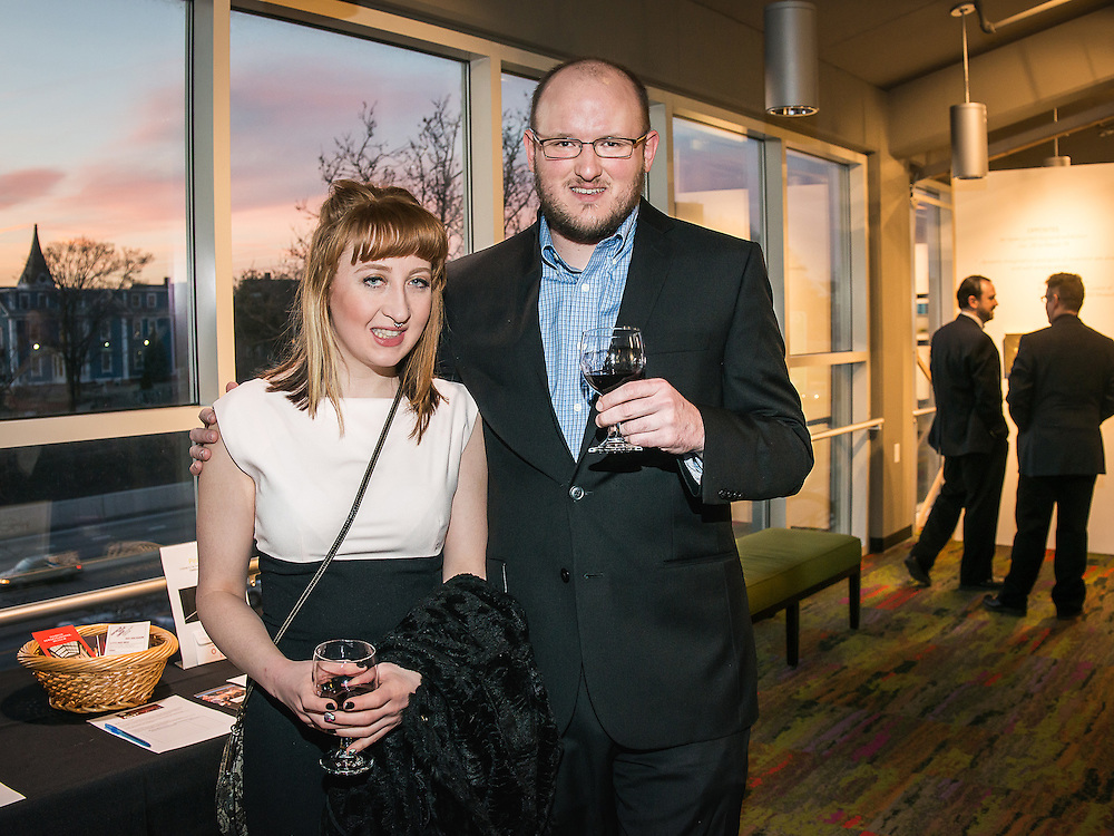 At the Rhode Island International Film Festival (RIIFF) Red Carpet Experience 2016 reception.