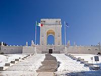 SACRARIO MILITARE, ASIAGO (VI), ALTOPIANO DI ASIAGO SETTE COMUNI, VENETO, ITALIA