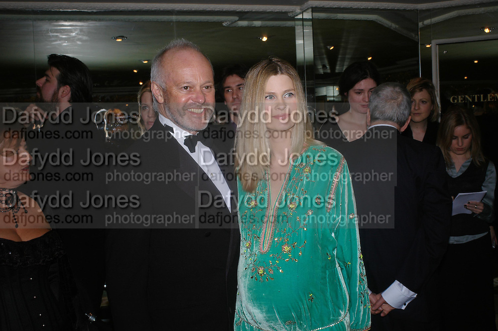 Mr. and Mrs. Mike Radford. 25th  annual Awards of the London critic's Circle in aid of the NSPCC. The Dorchester. Park Lane. London. 9 February 2005. ONE TIME USE ONLY - DO NOT ARCHIVE  © Copyright Photograph by Dafydd Jones 66 Stockwell Park Rd. London SW9 0DA Tel 020 7733 0108 www.dafjones.com