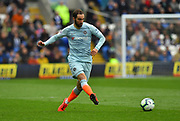 Gonzalo Higuain (9) of Chelsea during the Premier League match between Cardiff City and Chelsea at the Cardiff City Stadium, Cardiff, Wales on 31 March 2019.