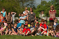 S.T.E.M. Day rocket launch at Gilford Elementary School.  Karen Bobotas/ for the Laconia Daily Sun