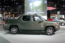 09 February 2006:  2007 Honda Ridgeline pickup truck.....Chicago Automobile Trade Association, Chicago Auto Show, McCormick Place, Chicago IL