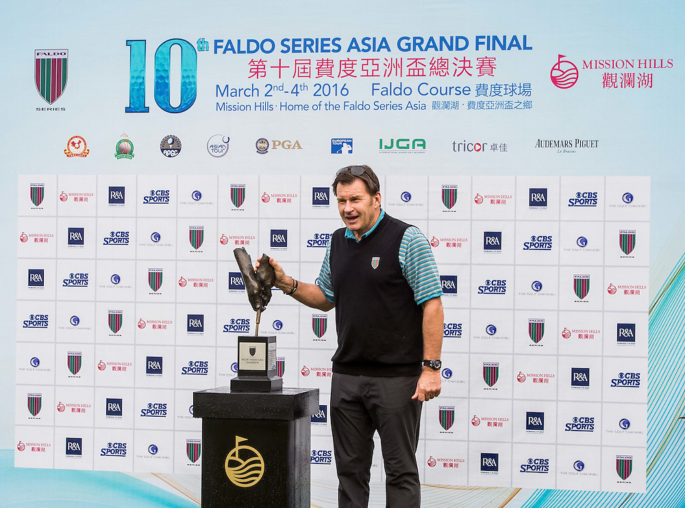 Players in action during day three of the 10th Faldo Series Asia Grand Final at Faldo course on 04 March of 2016 in Shenzhen, China. Photo by Xaume Olleros.