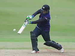 Kieran Noema-Barnett of Gloucestershire  - Photo mandatory by-line: Dougie Allward/JMP - Mobile: 07966 386802 - 14/07/2015 - SPORT - Cricket - Cheltenham - Cheltenham College - Natwest T20 Blast