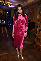 Lisa Snowdon at the Fortnum & Mason Food and Drink Awards, Fortnum & Mason Food and Drink Awards, London, England. 10 May 2018.