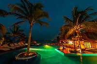 Twilight, Le Reve Hotel, Riviera Maya, Quintana Roo, Mexico