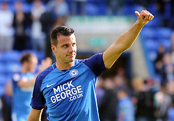 Steven Taylor of Peterborough United celebrates the victory at full-time - Mandatory by-line: Joe Dent/JMP - 05/08/2017 - FOOTBALL - ABAX Stadium - Peterborough, England - Peterborough United v Plymouth Argyle - Sky Bet League One