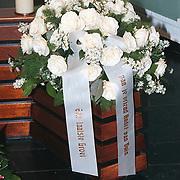 Begrafenis Jan Versteeg cq Frans Vrolijk, bloemstuk van Andre van Duin