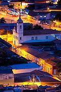 Cuiaba_MT, Brasil...Centro historico em Cuiaba a noite, Mato Grosso. Na foto Igreja do Rosario e Sao Benedito em Cuiaba, Mato Grosso...The historical center in Cuiaba at night, Mato Grosso. In this photo Rosario and Sao Benedito church in Cuiaba, Mato Grosso. ..Foto: JOAO MARCOS ROSA / NITRO.....