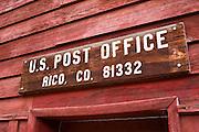 Post office, Rico, Colorado