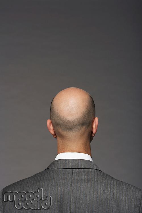 Businessman with Bald Head