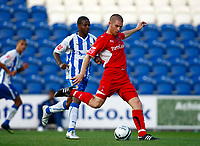 Football Carling Cup First Round Colchester United v Leyton Orient Ben Chorley of Leyton Orient at Weston Homes Community Stadium, Colchester 11/08/2009 Credit: Colorsport / Kieran Galvin