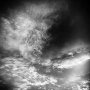 Storm clouds, Australia