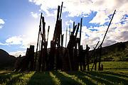 Brumadinho_MG, Brasil...Centro de Arte Contemporanea Inhotim (CACI). Na foto a obra Bean Drop, de Cris Burden...The Inhotim Contemporary Art Center (CACI). In this photo the art Bean Drop of Cris Burden...Foto: BRUNO MAGALHAES / NITRO