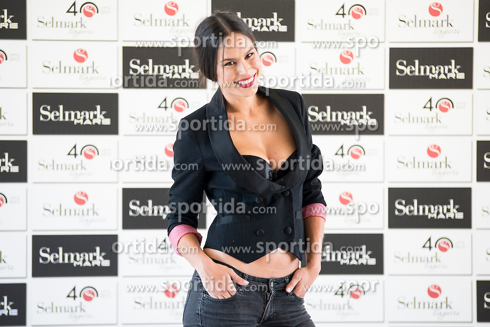 15.10.2015, Circulo de Bellas Artes, Madrid, ESP, Senmark Jubil&auml;ums Fashion Show, im Bild Mireia Canalda // during the Senmark 40th. Aniversary Fashion Show at the Circulo de Bellas Artes in Madrid, Spain on 2015/10/15. EXPA Pictures &copy; 2015, PhotoCredit: EXPA/ Alterphotos/ BorjaB.hojas<br /> <br /> *****ATTENTION - OUT of ESP, SUI*****