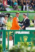 Jeroen Dubbeldam - Patrice Delaveau<br /> Alltech FEI World Equestrian Games™ 2014 - Normandy, France.<br /> © DigiShots - Jon Stroud