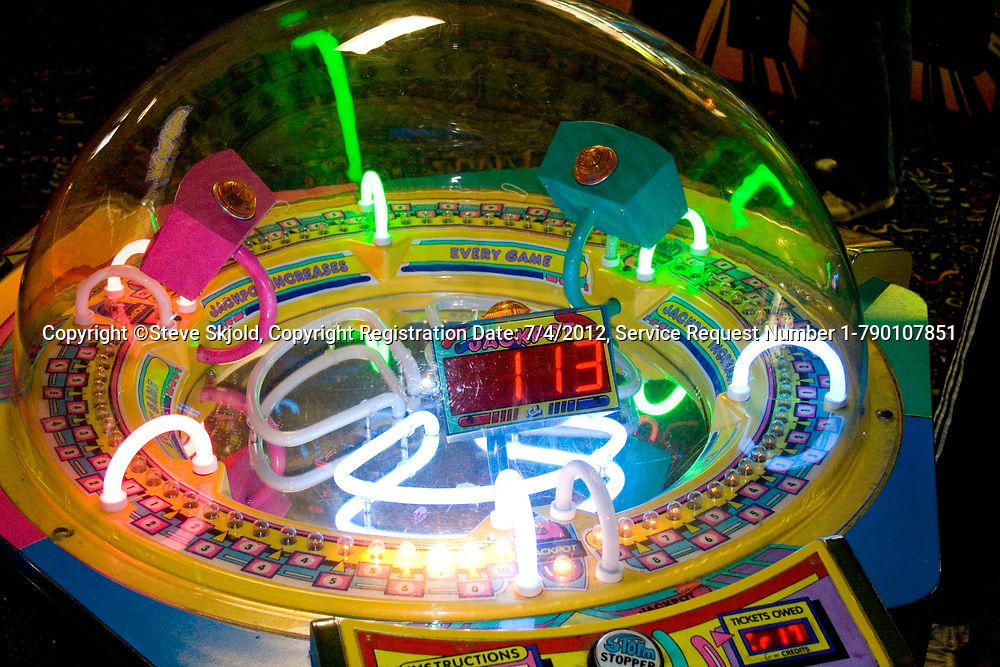 Electronic arcade game. Grand Slam Amusement Center Burnsville Minnesota MN USA