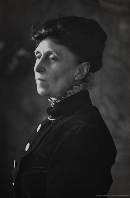 Alice Meynell, poet, England, UK, 1912