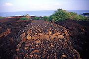Holua slide, Okoe Bay, Island of Hawaii<br />