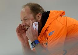 08-02-2014 SCHAATSEN: OLYMPIC GAMES: SOTSJI<br /> Coach Gerard Kemkers<br /> ©2014-FotoHoogendoorn.nl<br />  / Sportida