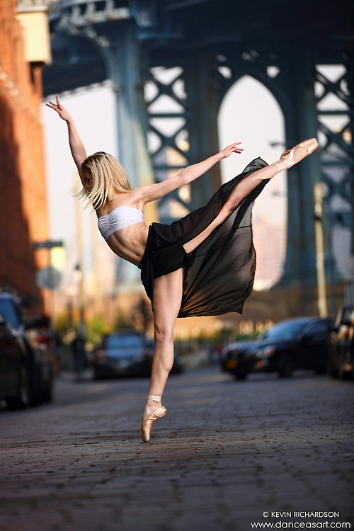 Dance As Art Streets of Dumbo Series with dancer Erika Citrin