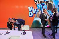 Noordwijkerhout, 19 november 2016 - Premier Mark Rutte tijdens het VVD congres in Noordwijkerhout.<br /> Foto: Phil Nijhuis