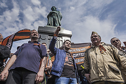 May 5, 2018 - Moscow, Moscow, Russia - Demonstration of Putin supporters in Pushkin square, Moscow. (Credit Image: © Celestino Arce via ZUMA Wire)