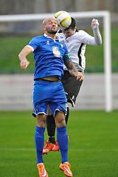 LEON CASHMAN, CAPTAIN AFC DUNSTABLE, AFC Dunstable v Hoddesdon Town FC, Spartan South Midland Premier League, Creasey Park FC, Beds, Saturday 14th November 2015 (Score 0-1)