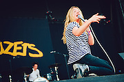 Becca Macintyre/Marmozets performing live at the Rock A Field Festival in Roeser, Luxembourg on July 5, 2015