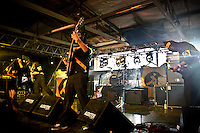 Banda mexicana Austin Tv tocando en vivo en el Festival Verde Panama 2011..