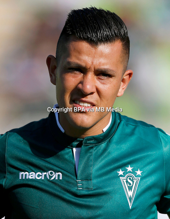 Chile Football League First Division - <br /> Scotiabank Tournament 2016 - <br /> ( Club de Deportes Santiago Wanderers ) - <br /> Carlos Andres Munoz Rojas