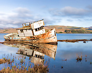 "Final resting place for the vessel ""Point Reyes"""