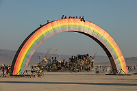 Rainbow Bridge by: Josh Zubkoff from: San Francisco, CA year: 2018 My Burning Man 2018 Photos:<br />