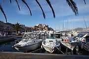 Calvi's Citadel overlooks the harbour.
