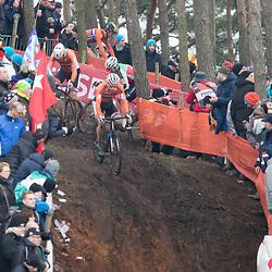 31-01-2016: Wielrennen: WK cyclecross beloften: Heusden Zolder<br /> HEUSDEN-ZOLDER (BEL) cyclocross<br /> Op het circuit van Terlamen-Zolder streden de veldrijders categorie beloften om de mondiale titels in het veld.