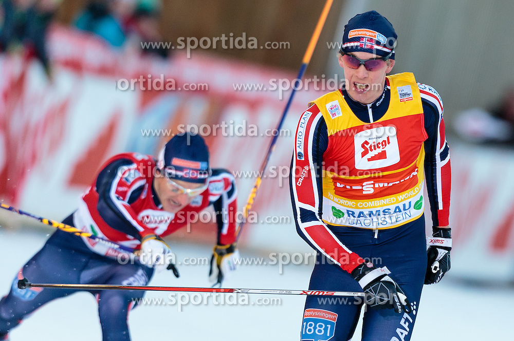 20.12.2015, Nordische Arena, Ramsau, AUT, FIS Weltcup Nordische Kombination, Langlauf, im Bild Magnus Krog (NOR) // Magnus Krog of Norway during Cross Country Competition of FIS Nordic Combined World Cup, at the Nordic Arena in Ramsau, Austria on 2015/12/20. EXPA Pictures © 2015, PhotoCredit: EXPA/ JFK