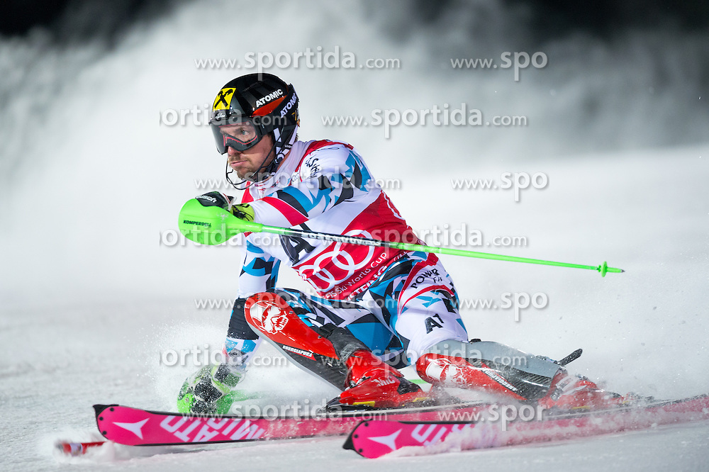 Marcel Hirscher (AUT) during the 7th Mens' Slalom of Audi FIS Ski World Cup 2016/17, on January 24, 2017 at the Planai in Schladming, Austria. Photo by Martin Metelko / Sportida
