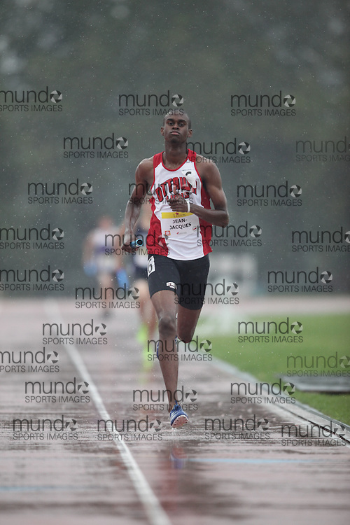 Ottawa, Ontario ---10-08-08--- Jean-Jacques competes in the 4 X 400 metres at the 2010 Royal Canadian Legion Youth Track and Field Championships in Ottawa, Ontario August 8, 2010..GEOFF ROBINS/Mundo Sport Images.