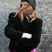 Köln, Germany, February 23, 2017. On the first day of Carnival in Köln in February, Womens' day, all the women and girls go out in street to celebrate.<br /><br />Colonia, Germania, 23 Febbraio 2017. Il primo giorno di Carnevale a febbraio, è il giorno delle donne, in cui le ragazze scendono per le strade in maschera a festeggiare.