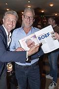 Koninklijk Theater Carre, Amsterdam. Lancering van de zevende editie van Amsterdam XXXl. Op de foto: Marc Kooiman en John Heuckeroth